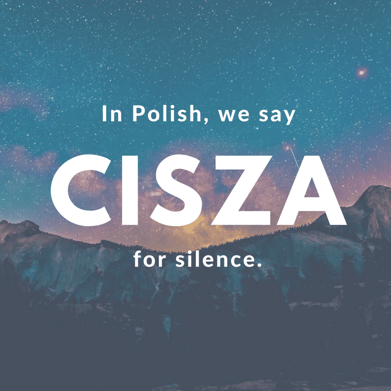Cisza-Silence © Culture Trip/Ewa Zubek
