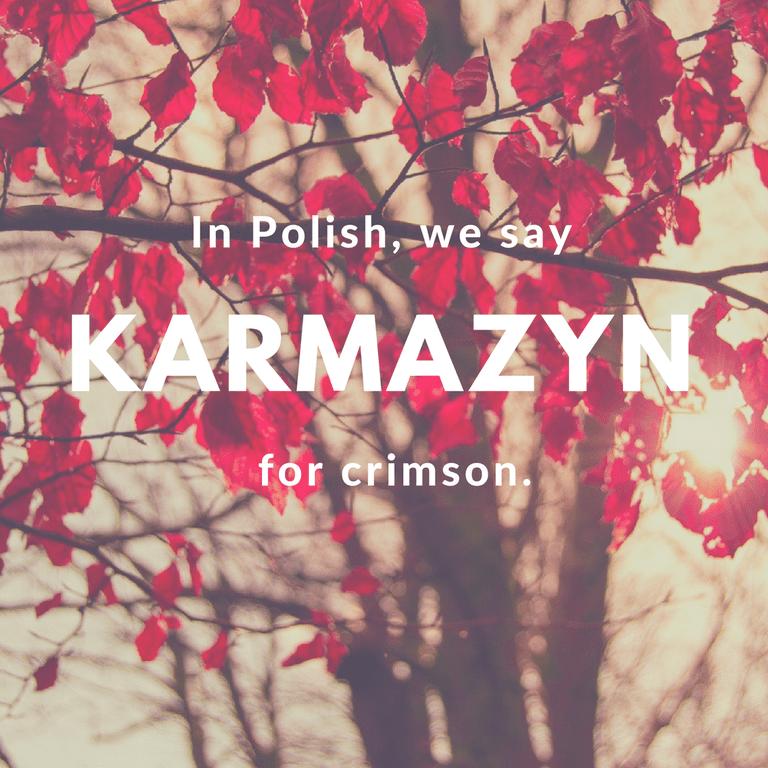 Karmazyn-Crimson © Culture Trip/Ewa Zubek