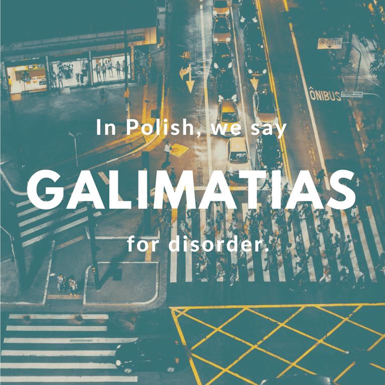 Galimatias-Disorder © Culture Trip/Ewa Zubek