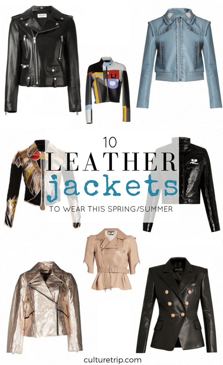 10 Leather Jackets To Wear This Spring/Summer