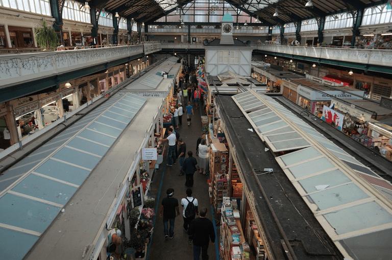 Cardiff Central Market |©Jaro/Flickr