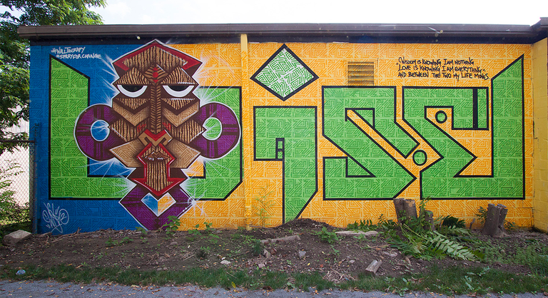 Wall Therapy 2013 Mural | Courtesy of Wisetwo