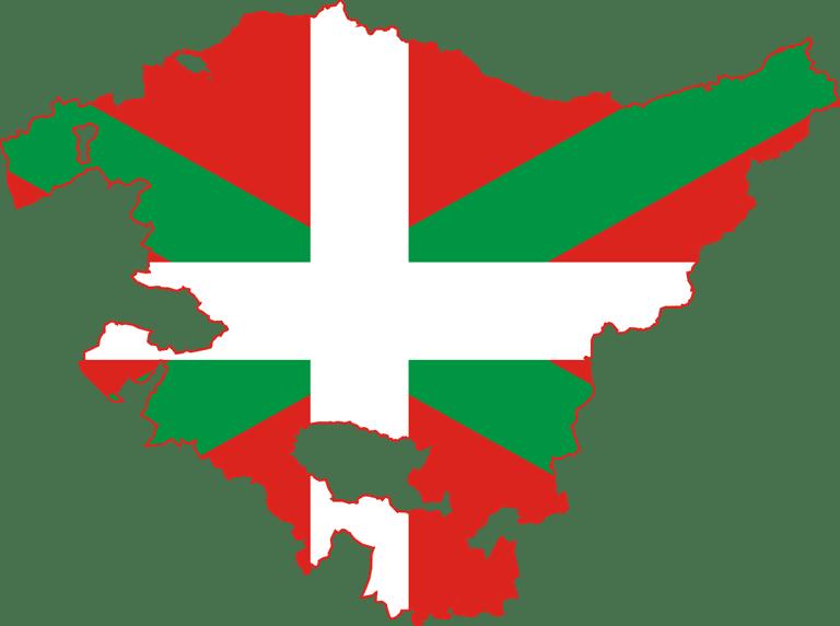 Basque map flag | ©Eddo / Wikimedia Commons