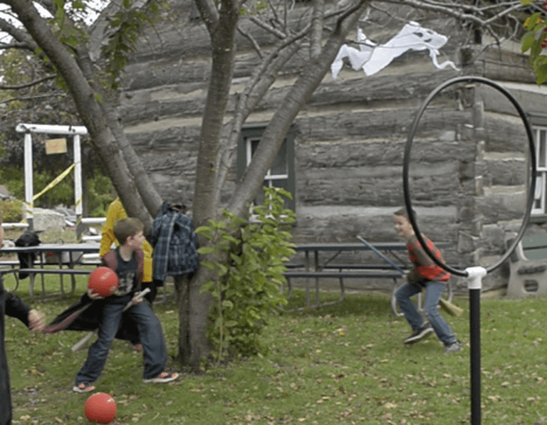 Quidditch at the 2016 Harry Potter & the Transfigured Town event | Courtesy of HP Fan Fest