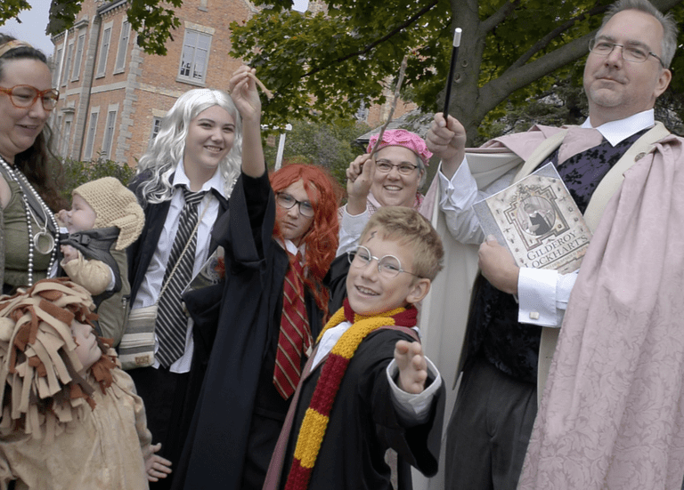 Costumes at the 2016 Harry Potter & the Transfigured Town event } Courtesy of HP Fan Fest