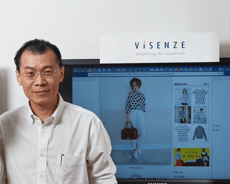 CEO and Co-Founder Oliver Tan | Cuourtesy of Visenze