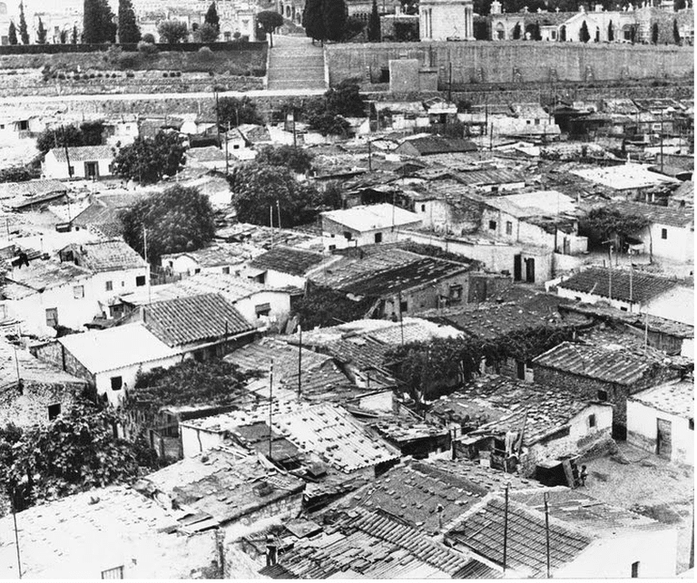The houses of Can Tunis Courtesy of Maria Trinidad Vilchez