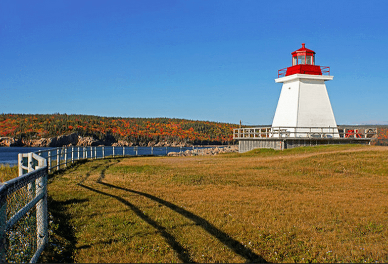 Neil's Harbour Lighthouse