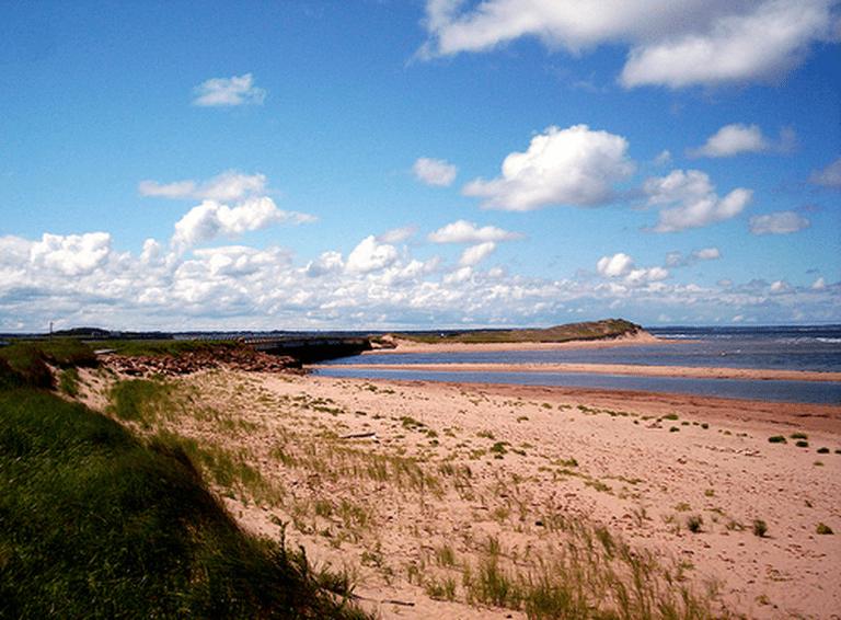 The shores of Prince Edward Island