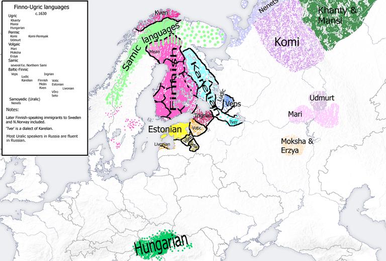 Finno-Ugric languages