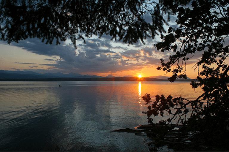 Thetis Island – Gulf Island Sunset, British Columbia