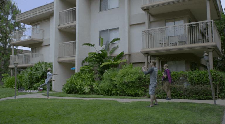 Gus' apartment|Courtesy of Netflix