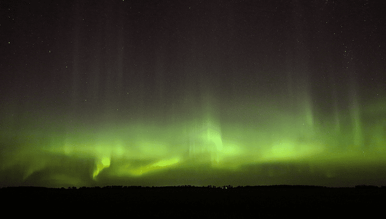 The Northern Lights in Manitoba