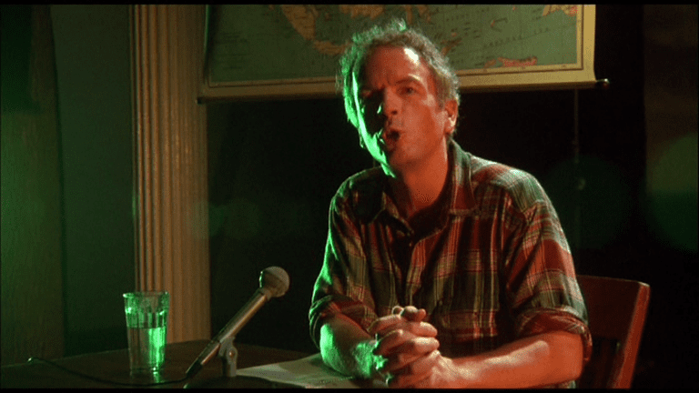 Spalding Gray in 'Swimming to Cambodia' | © Cinecom Pictures
