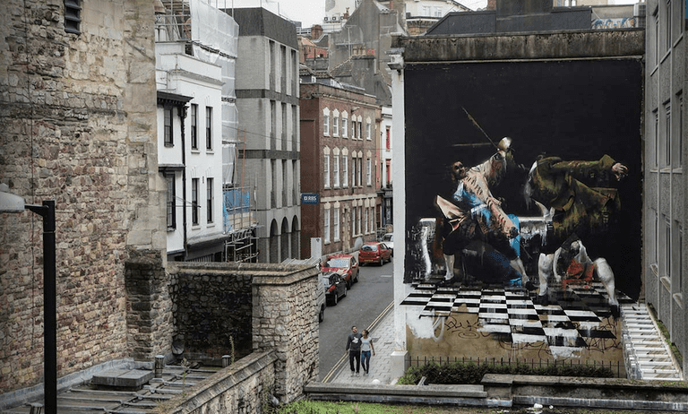 The Duel of Bristol by Conor Harrington | © Ian Cox/Courtesy of Conor Harrington