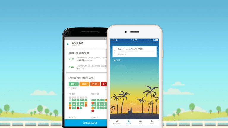 Hopper on both iOS and Android