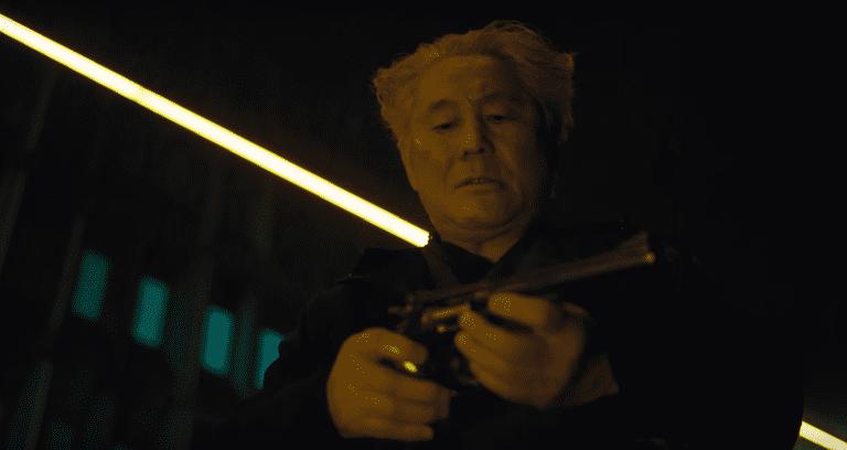 Beat Takeshi as Daisuke Aramaki in Ghost In The Shell