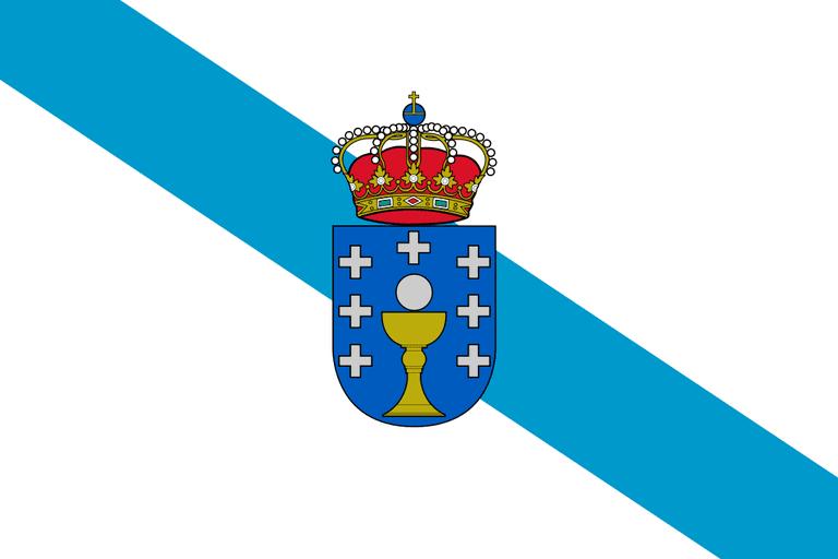 Flag of Galicia | ©Pedro A. Gracia Fajardo / Wikimedia Commons