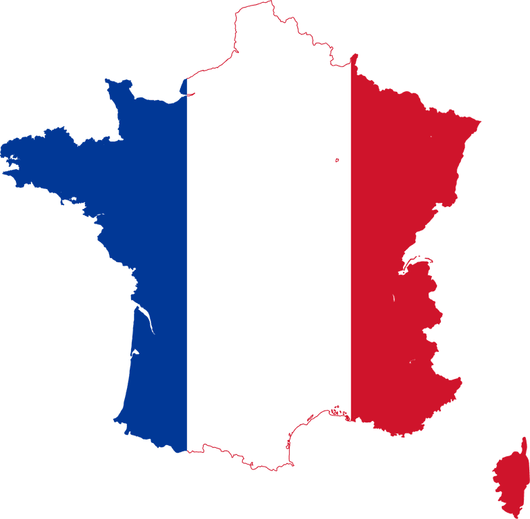 France flag map | ©Lokal_Profil / Wikimedia Commons