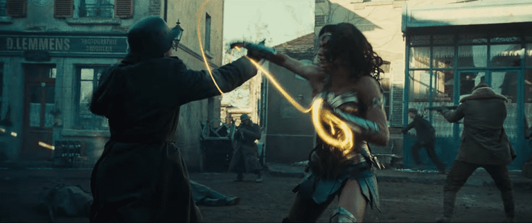 The girl with the golden lasso