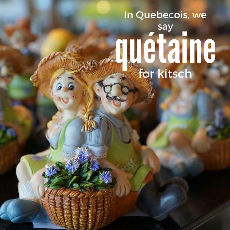 Quétaine – Kitsch
