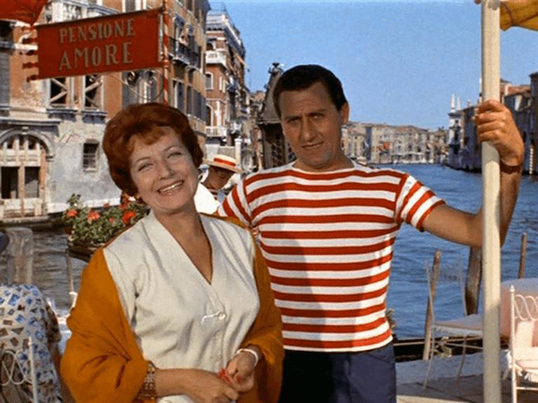 Anna Campori and Alberto Sordi in Venezia, la luna, e tu