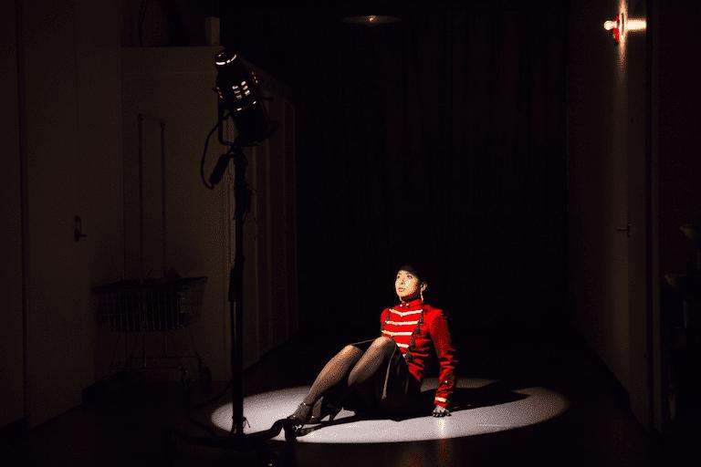 "Donna Ahmadi in ""Ghost Light"""
