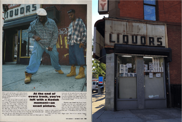 """Left: """"The Mayor of St. James,"""" article by Chris Wilde   © The Source, 1994; Right: Fine Care Pharmacy   © Katrina Fuller/Culture Trip"""