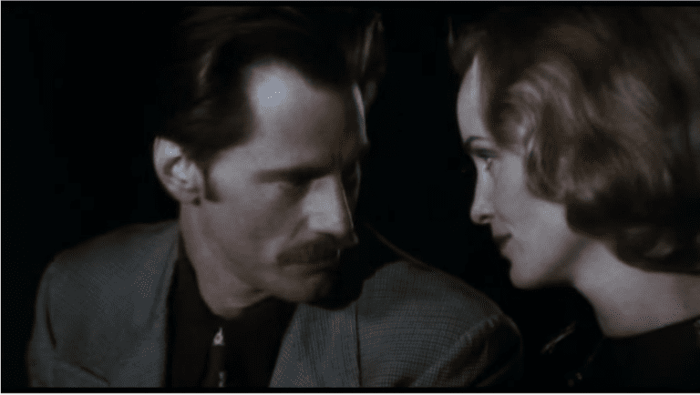 Sam Shepard and Jessica Lange in Frances