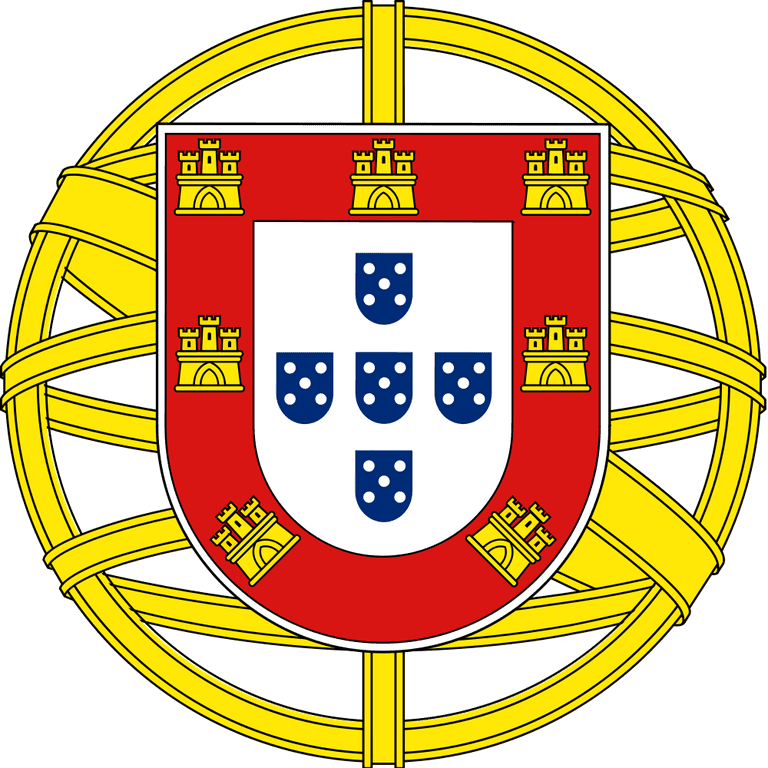 https://commons.wikimedia.org/wiki/File:Coat_of_arms_of_Portugal_(Lesser).svg