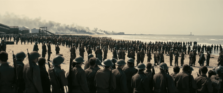 Queuing for deliverance in Dunkirk