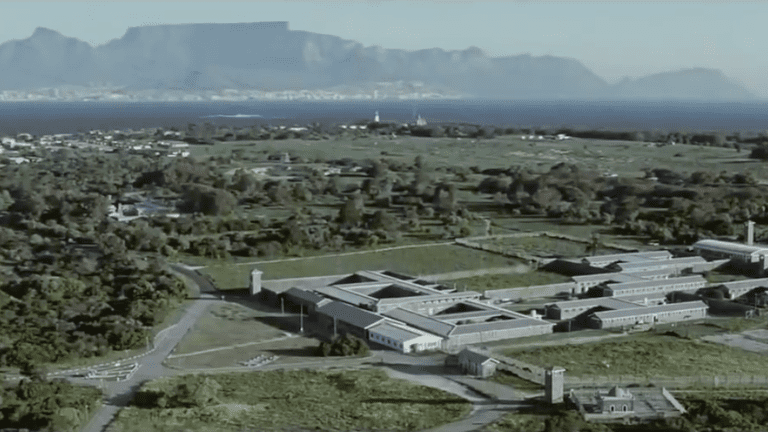 Robben Island understandably features regularly in the Long Walk to Freedom
