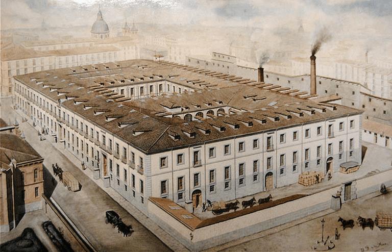 La Tabacalera is a former tobacco factory | © La Tabacalera