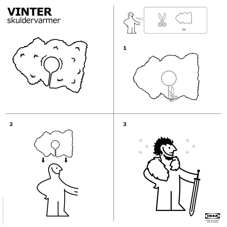 """Facebook post on new """"Vinter"""" design"""