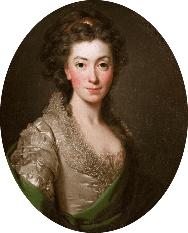 Portrait of Izabela Czartoryska née Fleming (1746-1835)
