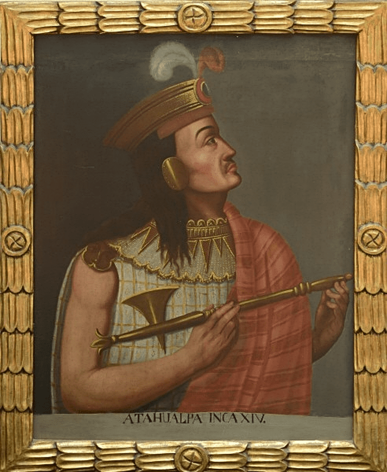 Atahualpa, Inca born in Quito