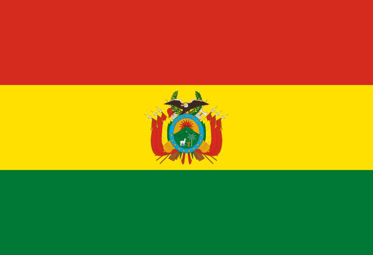 Current Bolivian Flag