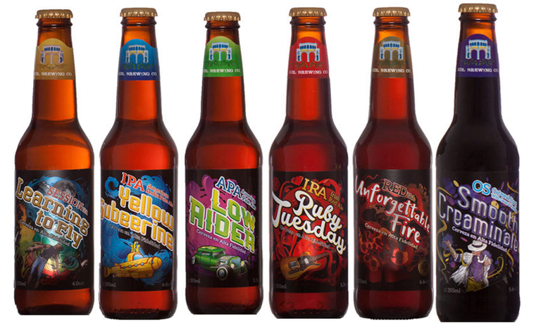 GDL Brewing Company bottles