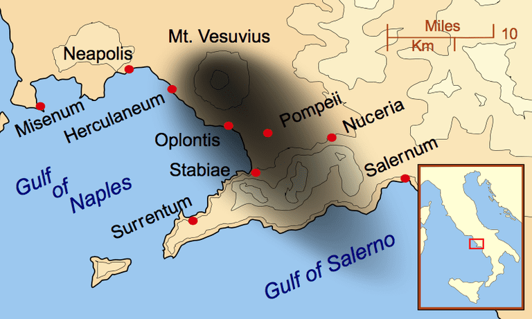 Eruption of Mount Vesuvius 79 AD