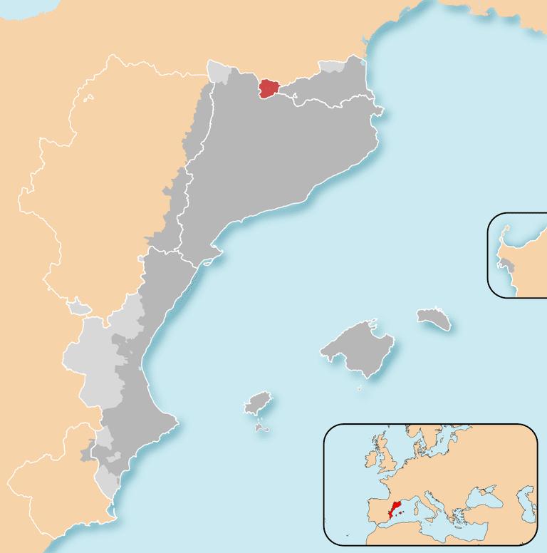 Size of Andorra | ©Mutxamel / Wikimedia Commons