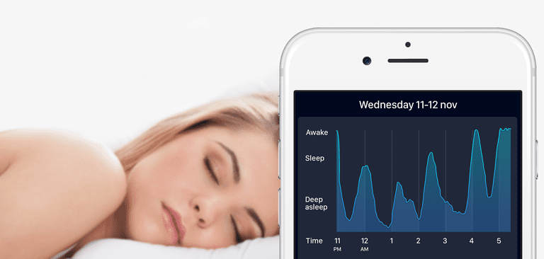 Sleep Cycle analyzes your sleep