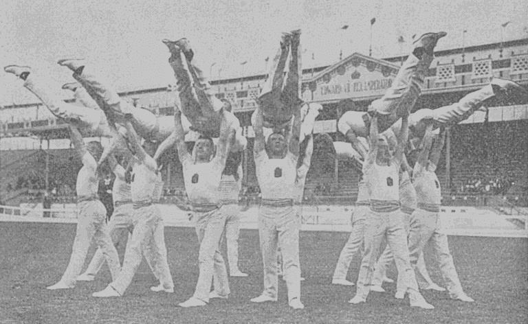 The Finland gymnastics team at the 1908 Olympics / Public domain / Wikicommons