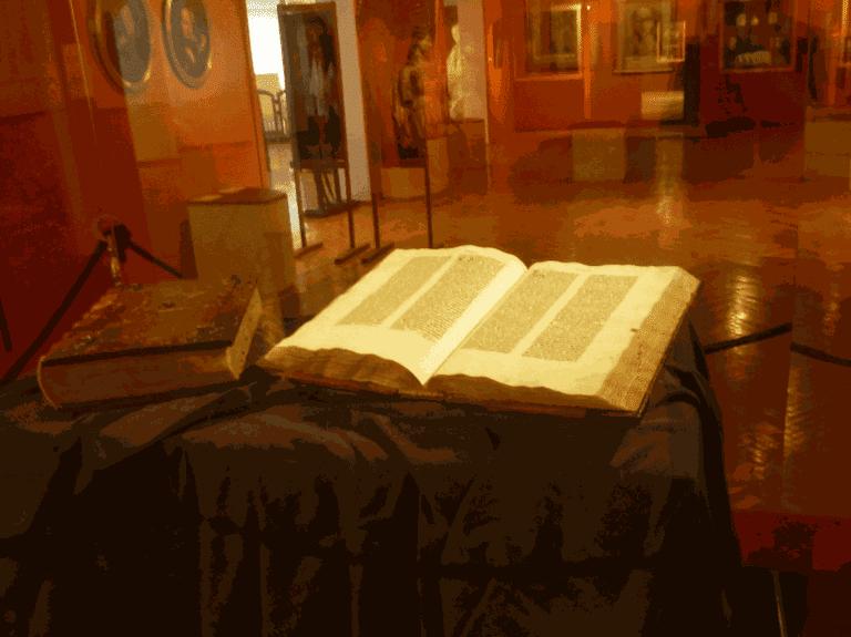 Gutenberg Bible in Pelplin