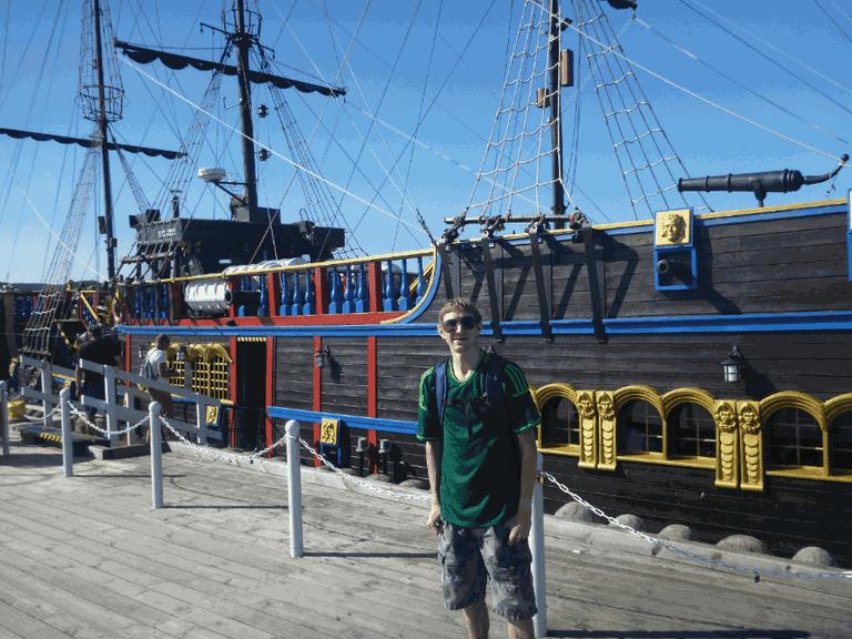 Take a Pirate Ship Cruise in Sopot