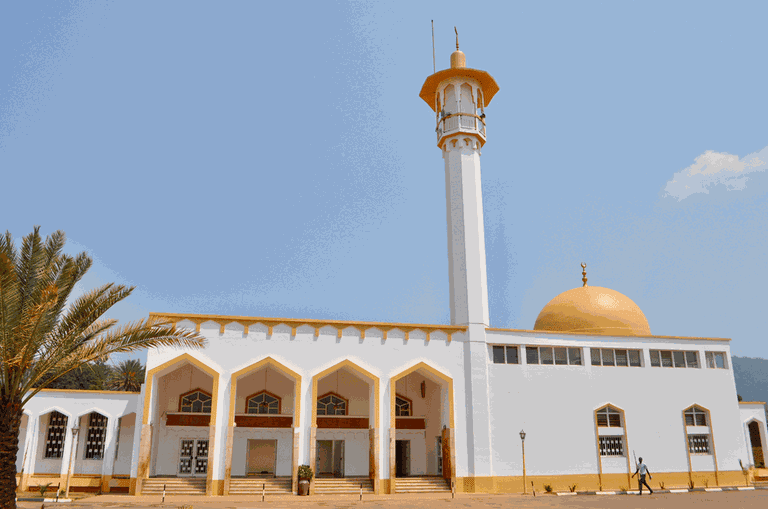 Gaddafi Mosque in Kigali