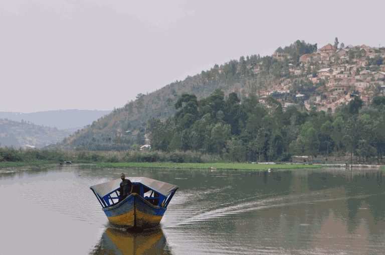 Boat rides in Kigali   © Courtesy of Leah Feiger