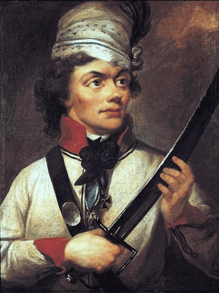 Portrait of Tadeusz Kościuszko