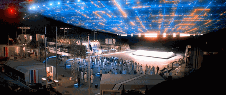 The mother ship in 'Close Encounters of the Third Kind' | © Columbia Pictures