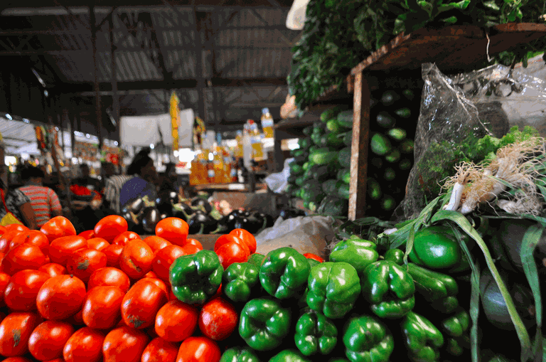 Fresh produce in Kimironko Market