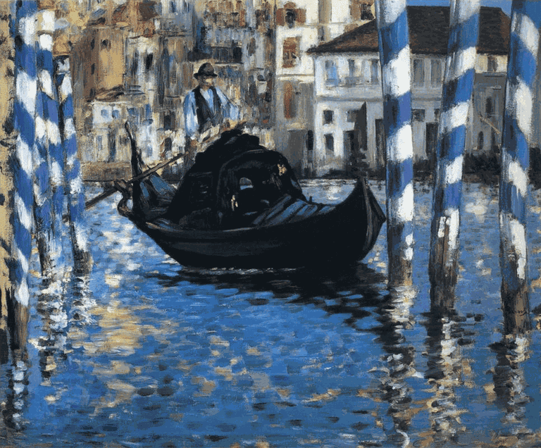 Edouard Manet's 'The Grand Canal of Venice' | WikiCommons